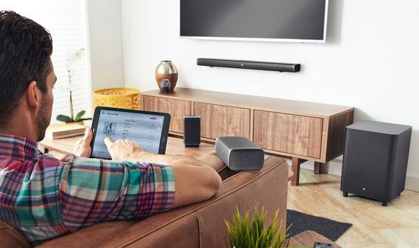 JBL 5.1 Soundbar with Wireless Subwoofer & Sorround Speakers – Audrixs